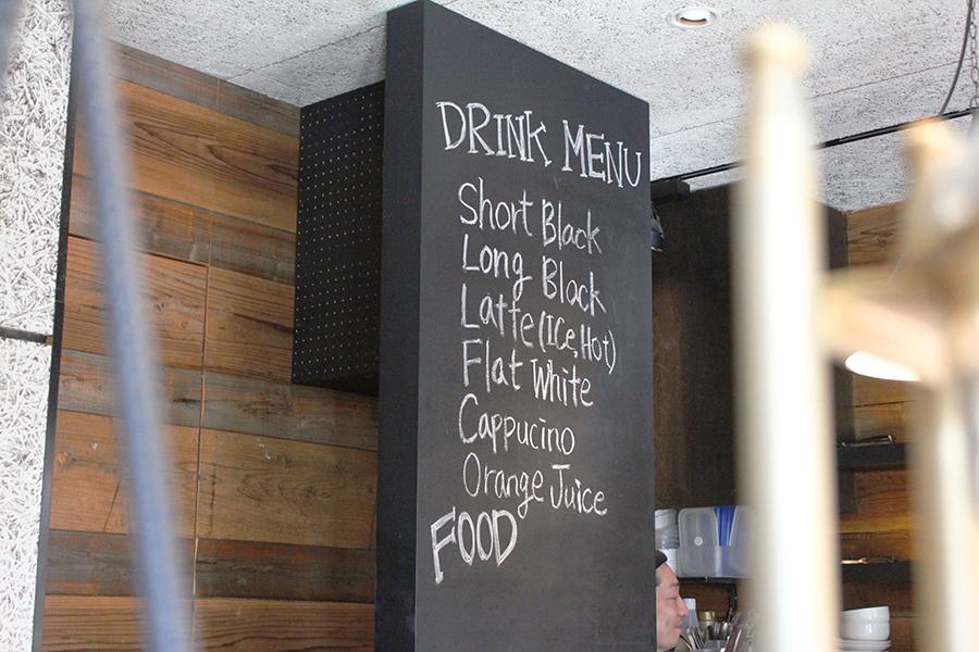 MONZ CAFE ドリンクメニュー