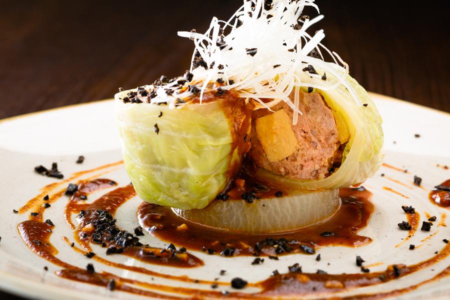 上野風月堂 本店レストラン「KANAME」肉