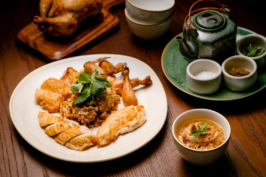 上野風月堂 本店レストラン「KANAME」お茶漬け