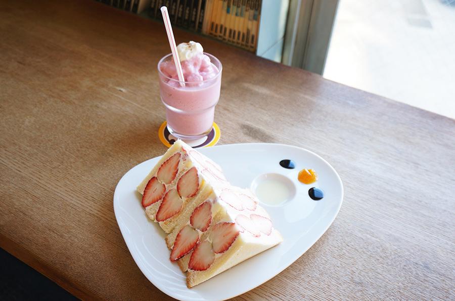 adito 「いばらキッス贅沢イチゴサンド」(1,800円)4
