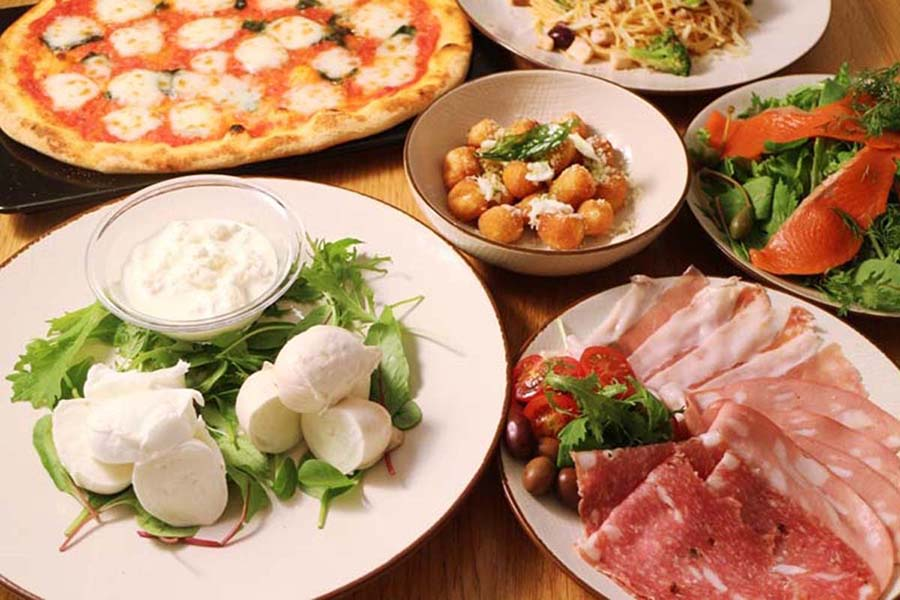 Obicà Mozzarella Bar パーティーメニュー