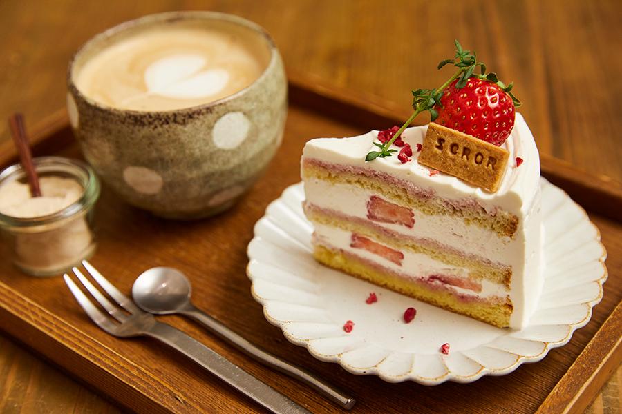 SOROR 「いちごのショートケーキ」(600円)