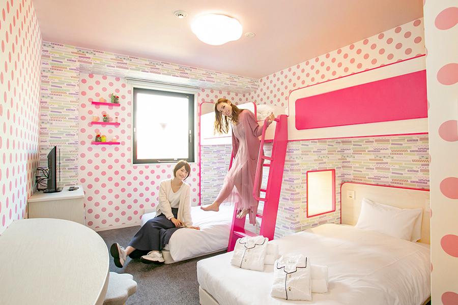 ホテルユーラシア舞浜アネックスグループ2段ベッド