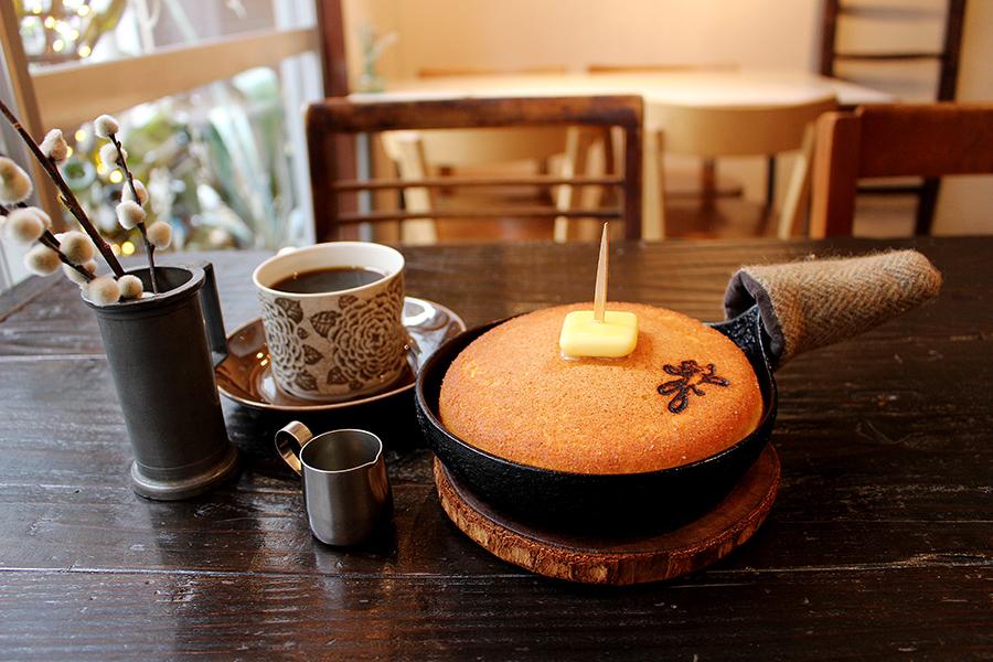 mimet 「mimetのホットケーキ」(700円)