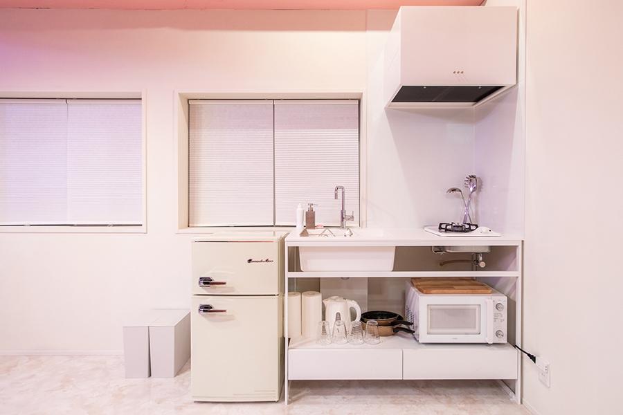 MOSHI MOSHI ROOMS キッチン