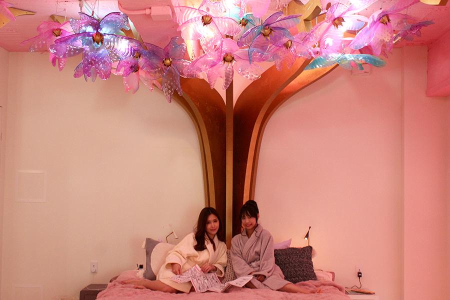 MOSHI MOSHI ROOMS ベッドルーム