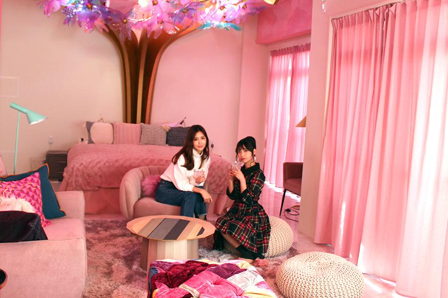 MOSHI MOSHI ROOMS リビング