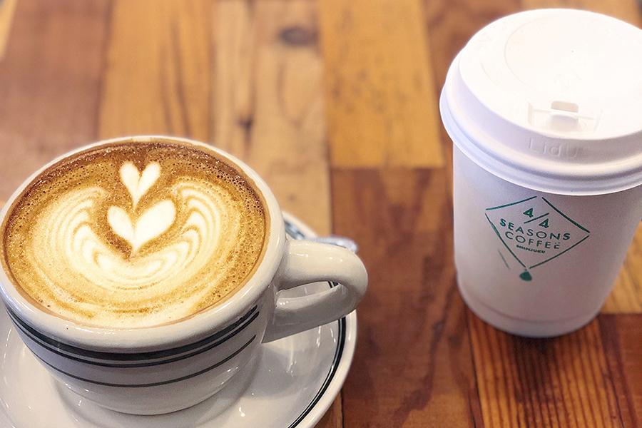 4/4 SEASONS COFFEE ドリンク
