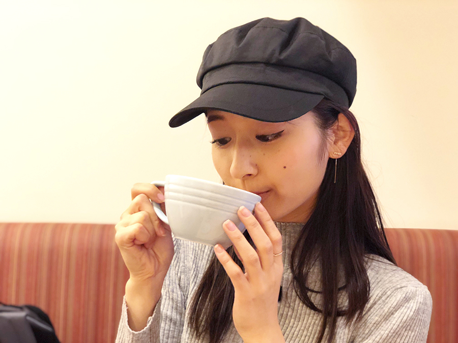 The tee Tokyo supported by MLESNA TEA 岡田さん