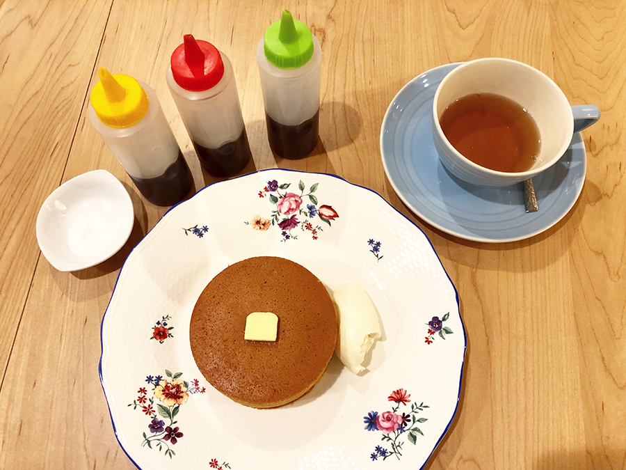 The tee Tokyo supported by MLESNA TEA ホットケーキ