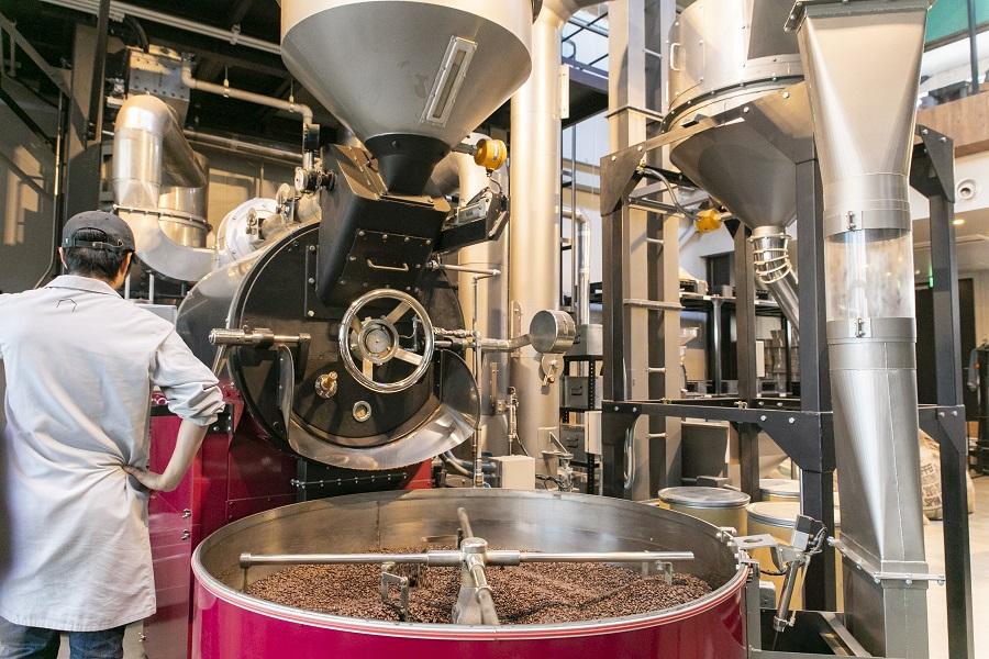 神乃珈琲 焙煎工場