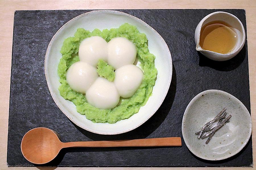 甘味 みつや 「ずんだ」(730円)