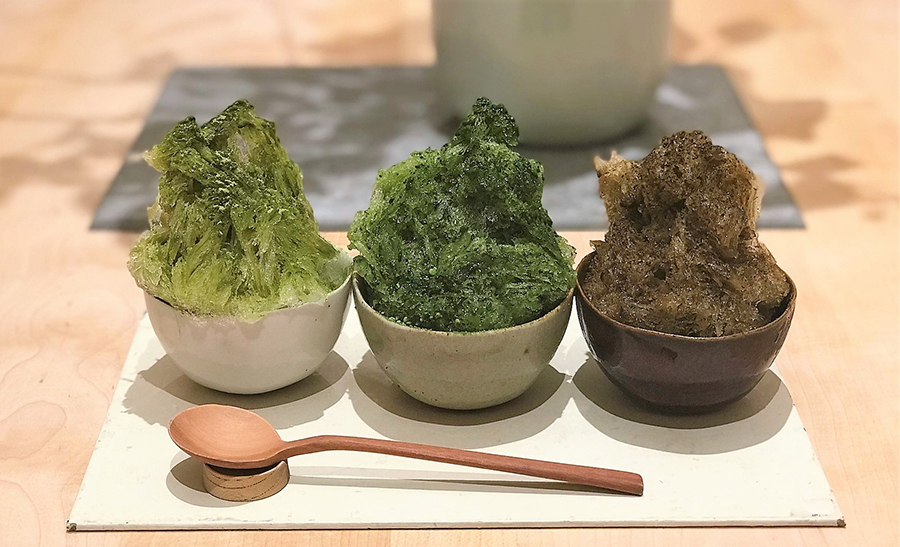 甘味 みつや 「かき氷/利き茶」