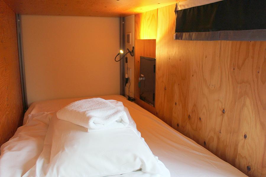 WISE OWL HOSTELS TOKYO ベッドスペース