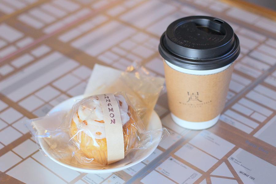 WISE OWL CAFÉ コーヒー&マフィンセット