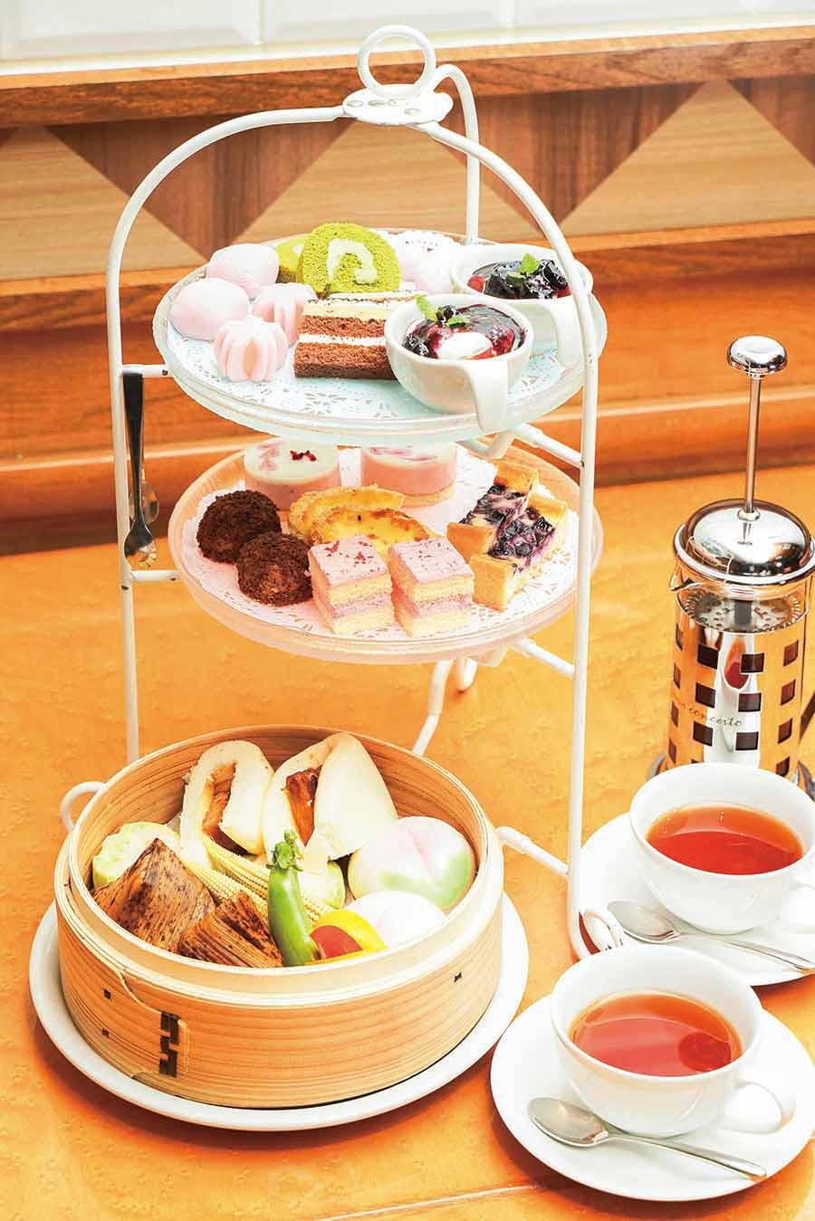 tcc Singaporean Cafe&Diner アフタヌーンティーセット