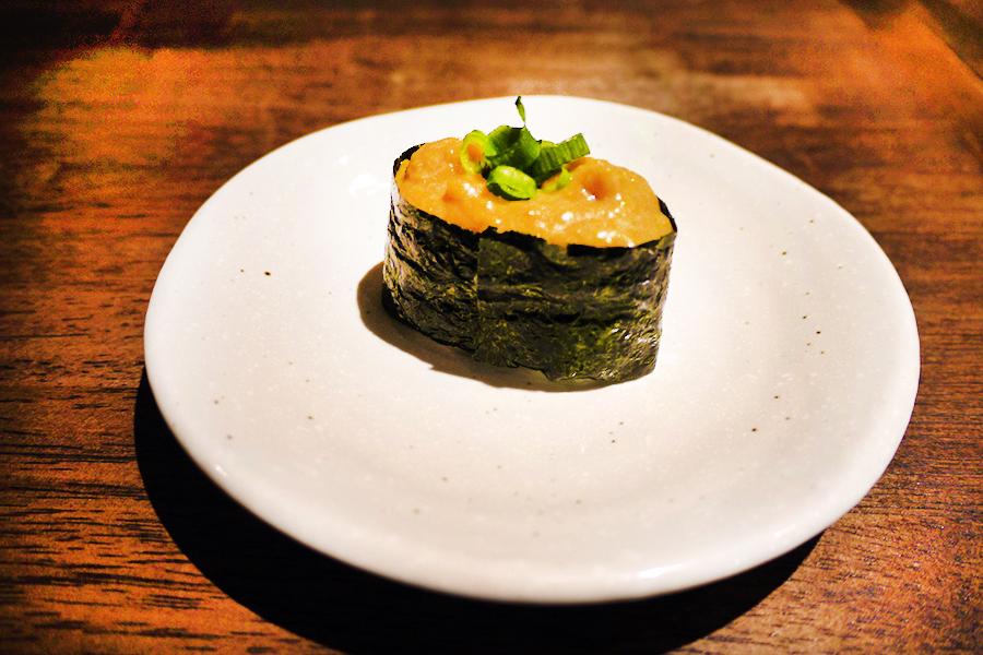 上野 肉寿司 フォアグラ軍艦