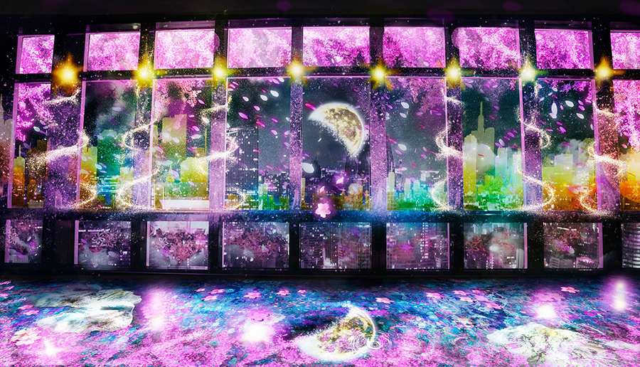 TOKYO TOWER CITY LIGHT FANTASIA ~YOZAKURA NIGHT~