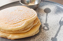 MICASADECO&CAFE 神宮前 もちもちプレーンパンケーキ