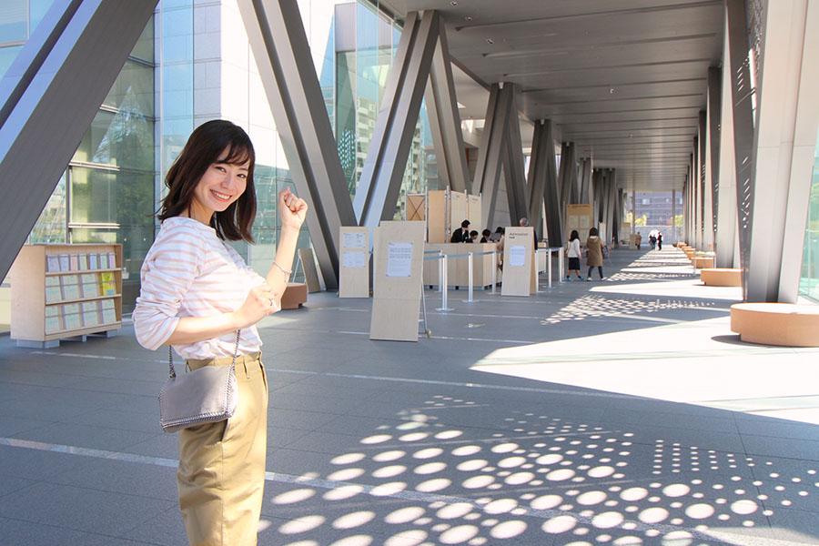 東京都現代美術館 エントランス