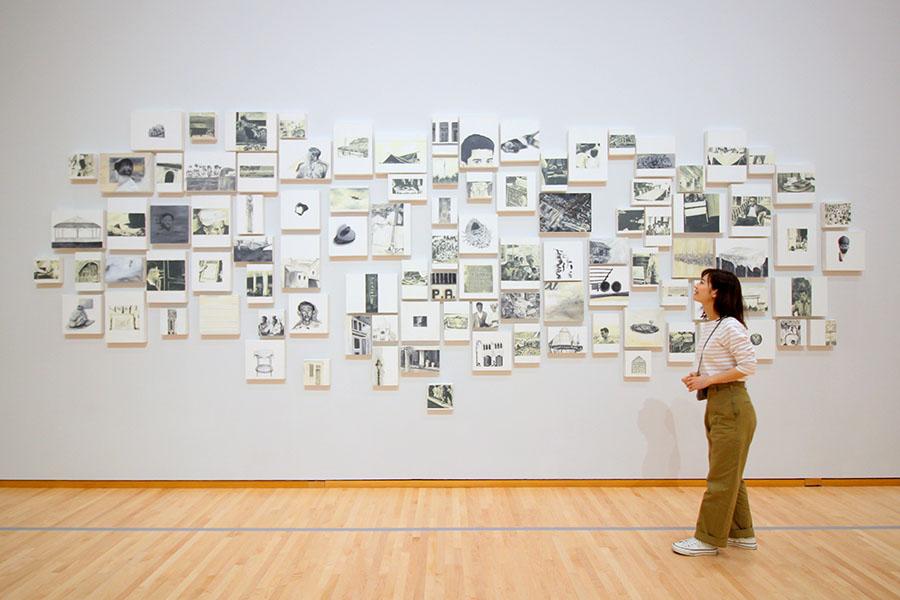 東京都現代美術館 サレ・フセイン《アラブ党》2013年
