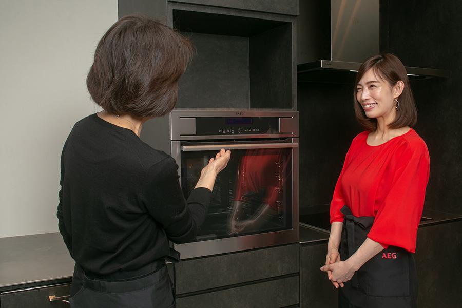 AEGショールーム電気オーブン