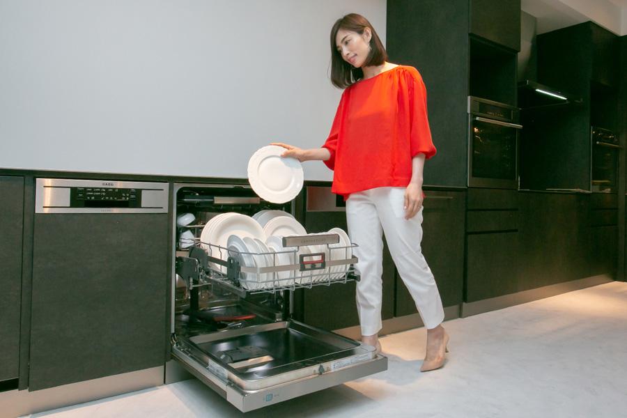 AEGショールーム食器洗い機