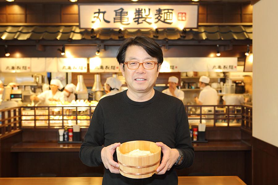 うちの入魂グルメ_丸亀製麺・粟田貴也さん