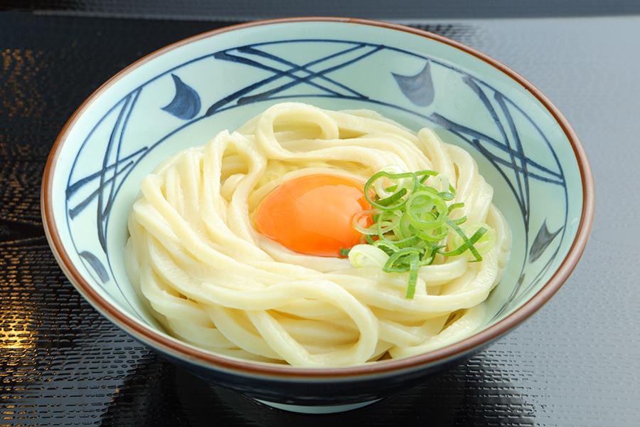 丸亀製麺_釜玉うどん