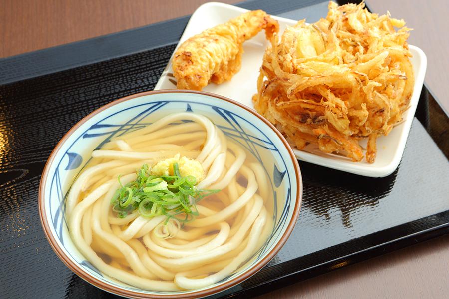 丸亀製麺_かけうどん