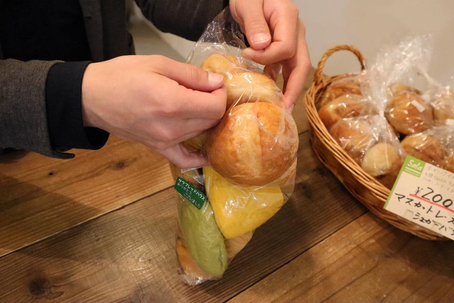 サラブレッドハウスパン詰め放題
