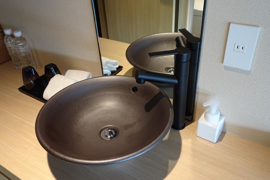 由縁 新宿 洗面台