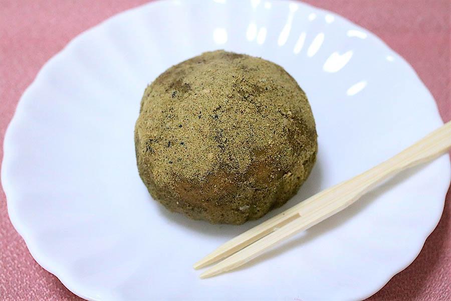 タケノとおはぎ「麻の実ときな粉」