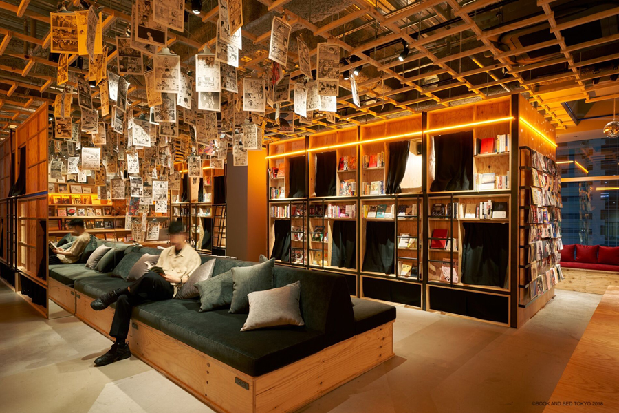 BOOK AND BED TOKYO 新宿店