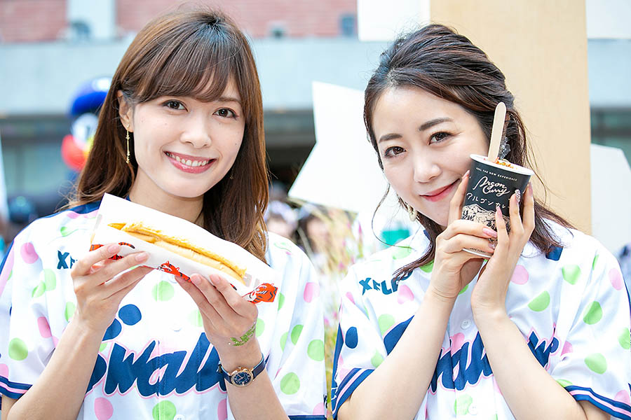 SWALLOWS LADIES DAY 2019 foods