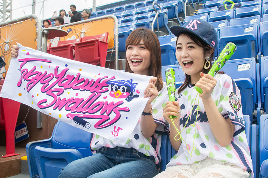 SWALLOWS LADIES DAY 2019 応援グッズ