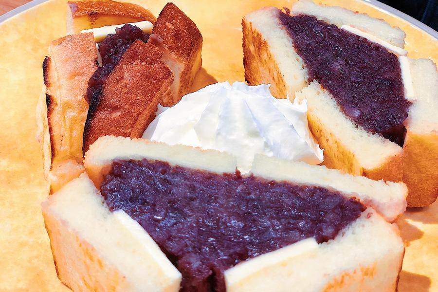 俺のBakery&Cafe 松屋銀座 裏 小倉バターのサンドイッチ