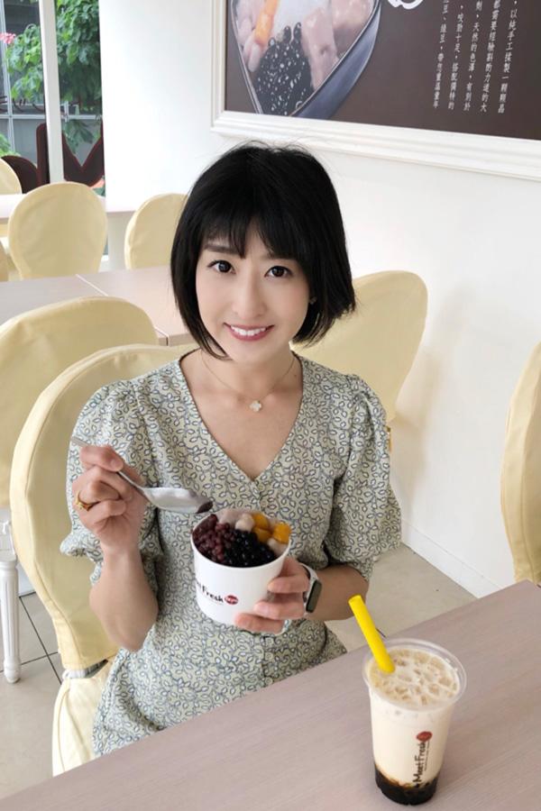 MeetFresh 鮮芋仙 マロニエゲート銀座店 土屋さん