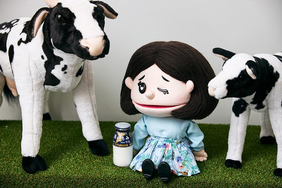 牛乳屋さんのソフトクリーム 牛乳