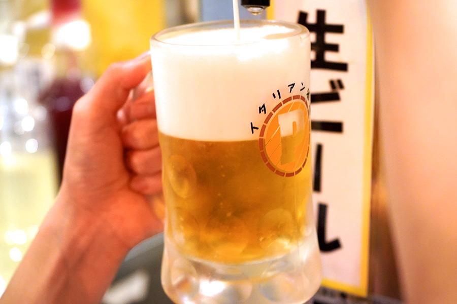 東京イタリア酒場P 生ビール