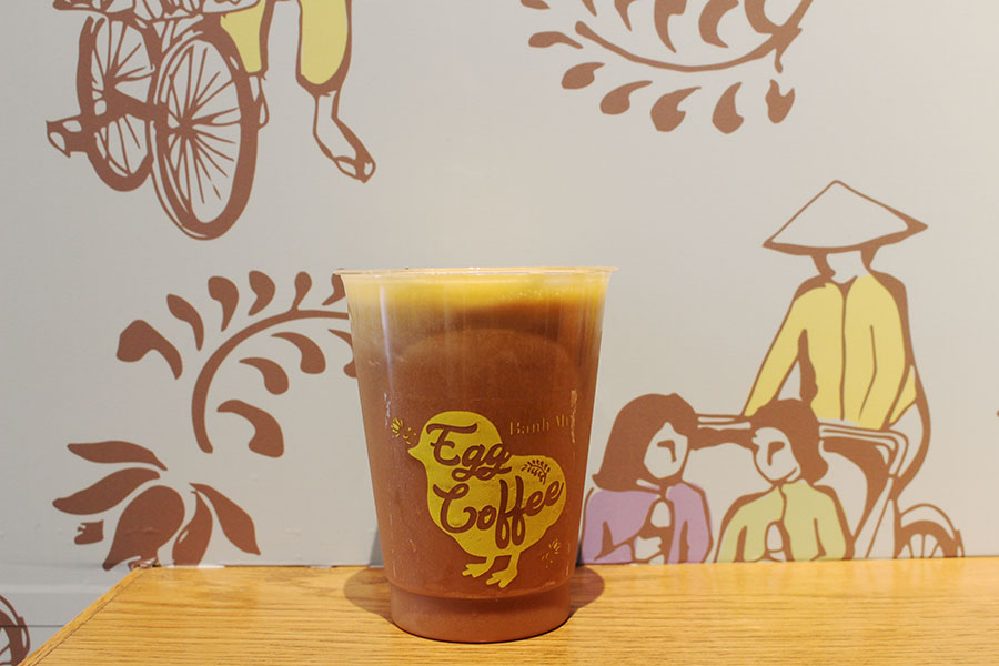 CYCLO Banh mi エッグコーヒー