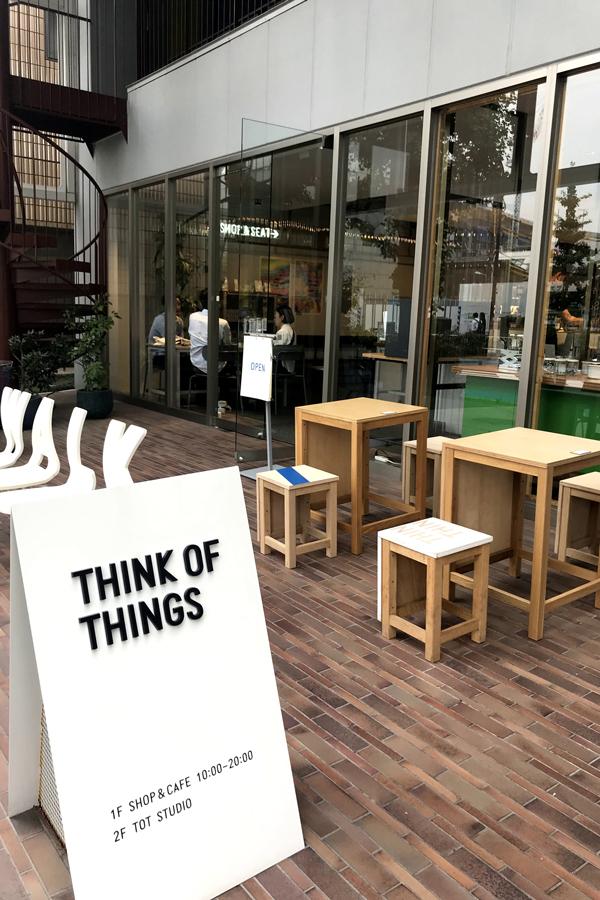 THINK OF THINGS 店頭