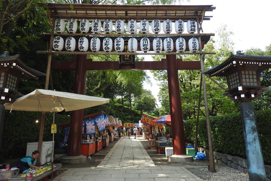 根津神社 例大祭
