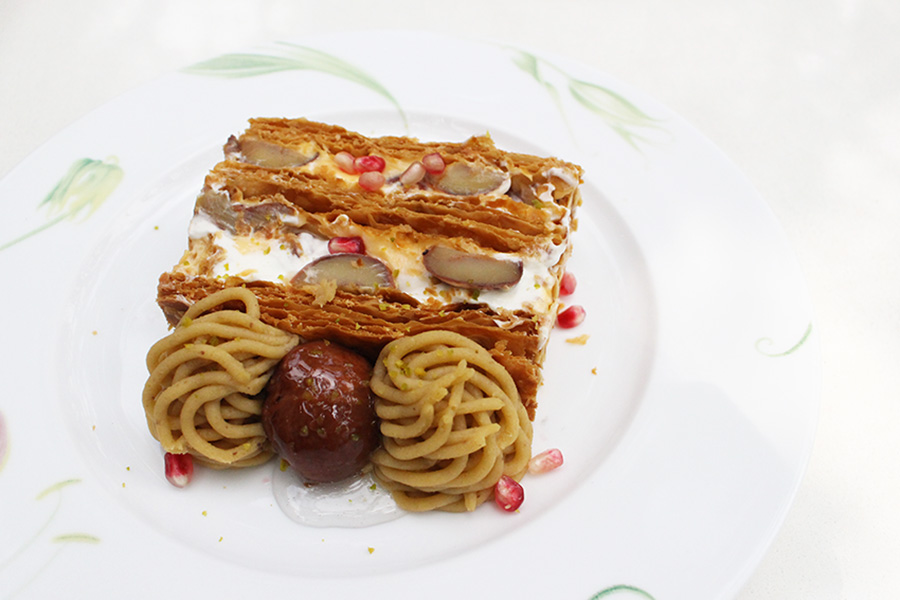 キハチ 青山本店 「KIHACHIのマロンパイ」