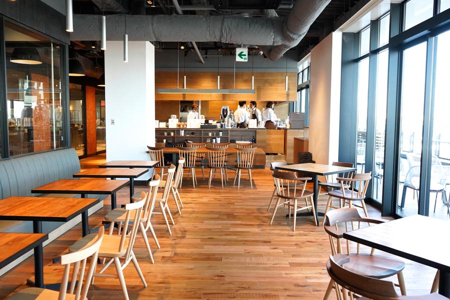 鎌倉紅谷Kurumicco Factoryカフェ