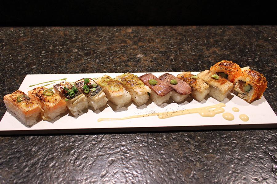KINKA sushi bar izakaya 渋谷 「アブリシャス12貫」