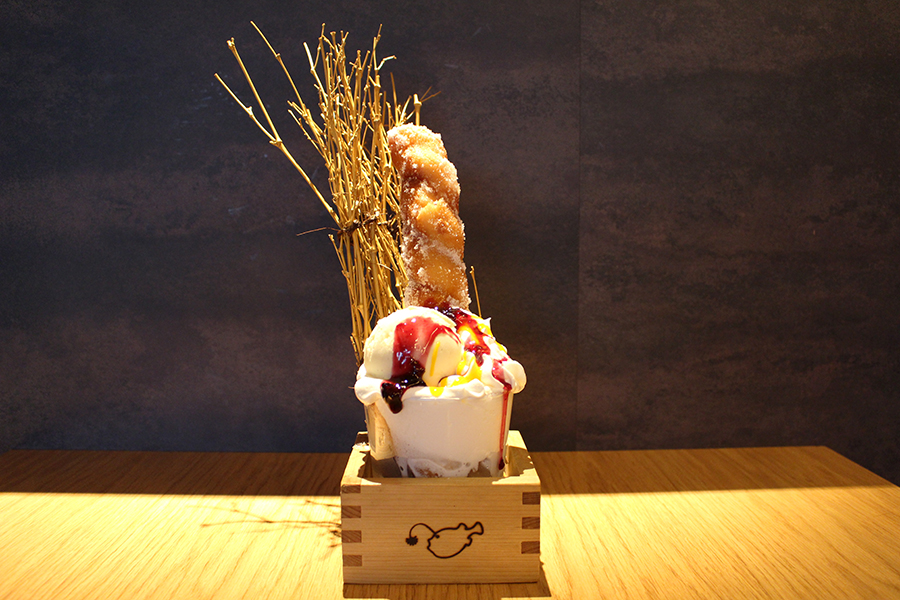 KINKA sushi bar izakaya 渋谷 「名物 あまい棒」