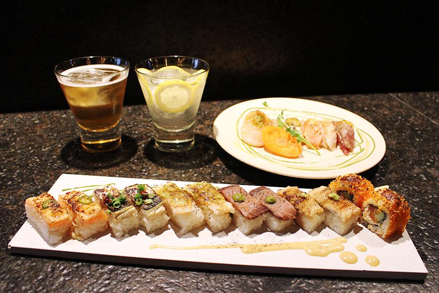 KINKA sushi bar izakaya 渋谷 炙り寿司