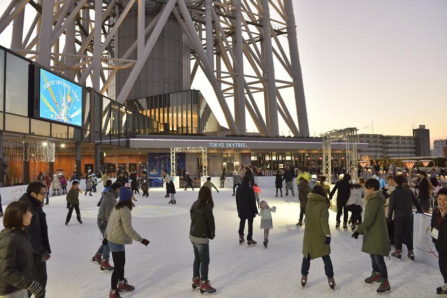 TOKYO SKYTREE TOWN(R) ICE SKATING PARK 2020