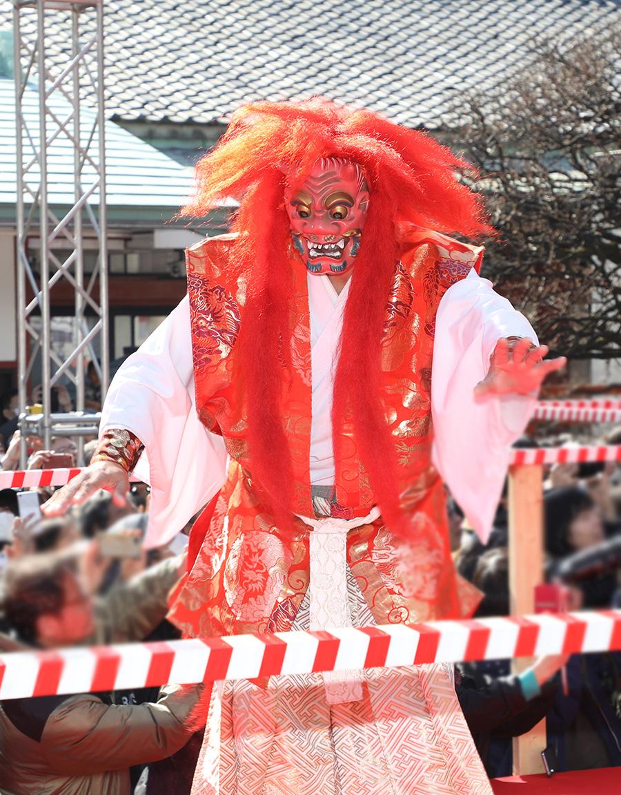 赤坂日枝神社「節分祭追儺神事」